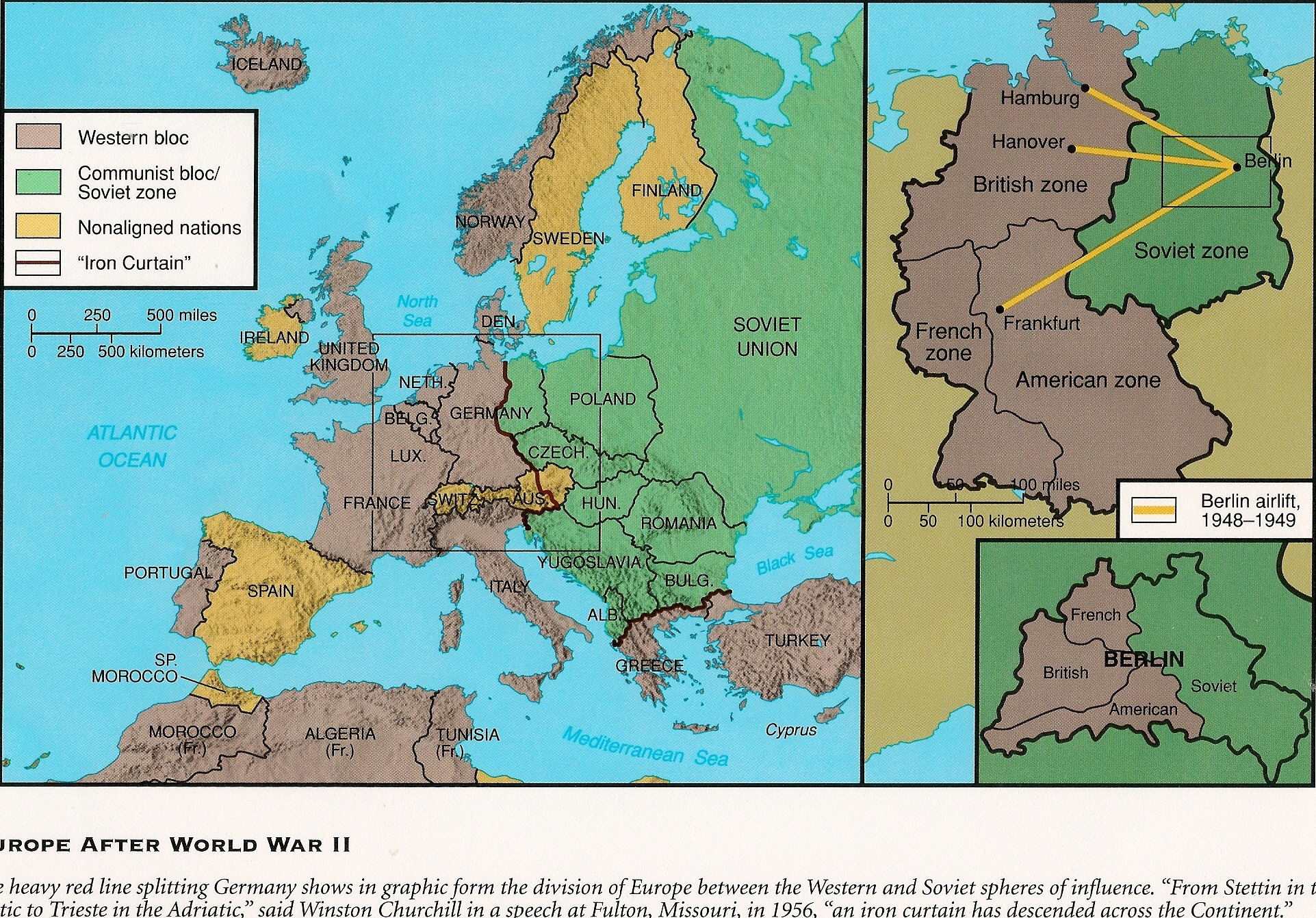 Map Of Europe Wwii Before And After Hallsofavalon